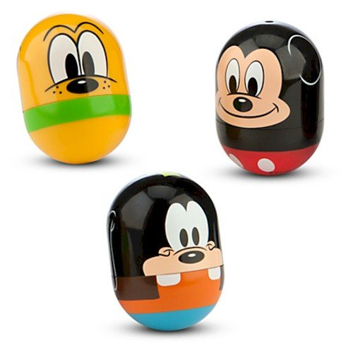 Disney Mickey Mouse, Pluto, and Goofy Rolling Toy Set - 1