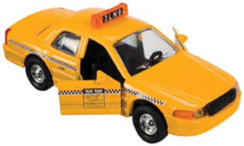 Toysmith Yellow Taxi (5-Inch)