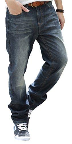 smithroad-herren-thermo-jeanshose-vintage-verwaschen-chino-jeans-hose-usedlook-denim-locker-freizeit