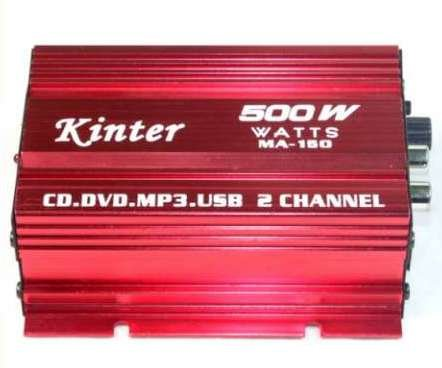Review Kinter MA-150 Amplifier Digital Stereo Amplifier For Car Motorcycle and Boat (Max Power = 40 ...