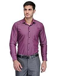 Harvest L.Purple 100 % Cotton Party Wear Shirt for Men