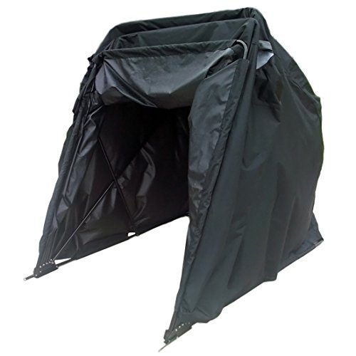 Peaktop® Heavy Duty (Small/Large) Motorcycle Shelter Tourer Shed Cover Storage Garage Tent +Lock&Carry Bag (Small Size) (Motorcycle Storage Tent compare prices)