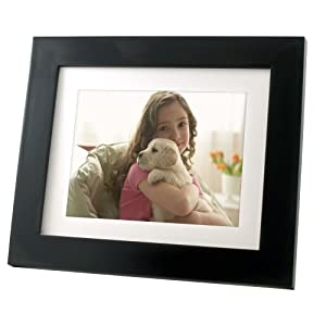Pandigital PAN8008DW Photo Mail 8-Inch LED Digital Picture Frame (Black)
