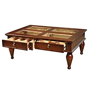 Quality Importers Trading Coffee Table Humidor Home Kitchen