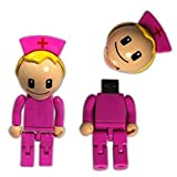 4-64GB beautiful doctor nurses Model USB 2.0 Memory Flash Stick Pen Drive 64GB