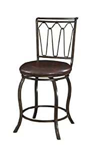 Powell Company Big and Tall Triple Cone Counter Stool