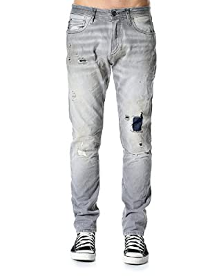 Jack & Jones Men's 'Nick' Jeans W33 / L32 Greywashed