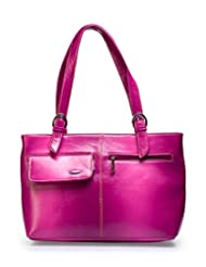 "Barbarian Elegant Hand Bag In Pink Color For ""Woman Traveller"""