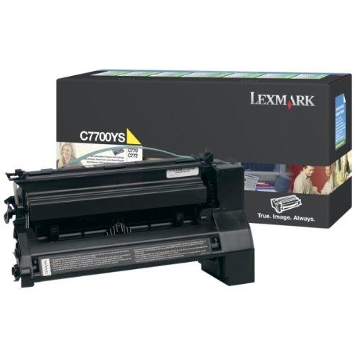 Lexmark Cartouche de toner 1 x jaune 1 x jaune - 6000 pages - LRP / LCCP