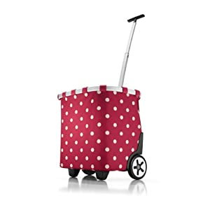 Reisenthel Carrycruiser BA0544 Sac de shopping (Rouge à pois)