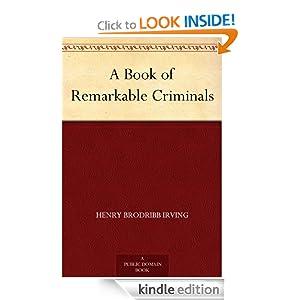 Logo for A Book of Remarkable Criminals