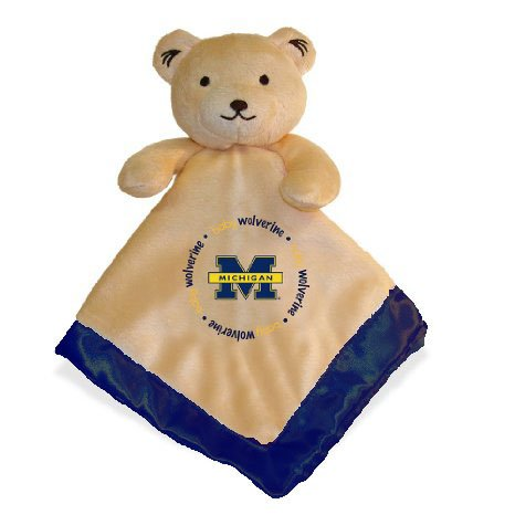 Baby Fanatic Security Bear Blanket, University of Michigan - 1