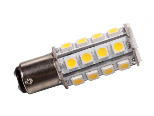 Grv Ba15D 1076 1142 High Power Car Led Bulb 30-5050Smd Dc12V Warm White Pack Of 10
