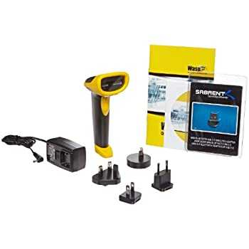 Ingram Wasp WWS550i cordless barcode scanner delivers unmatched freedom, flexibility, and functionality in a value-packed, lightweight design. Eliminating the clutter and tangle of cords, the WWS550i rapidly scans barcodes in retail, light industrial...