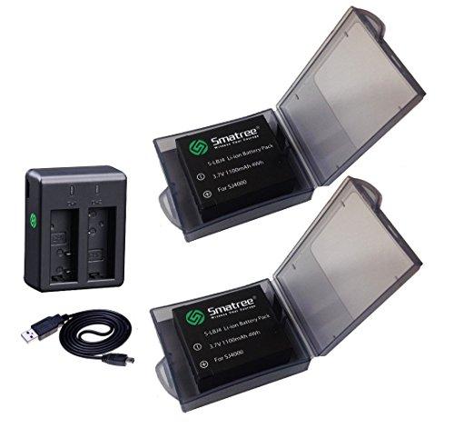 バッテリー2個+急速デュアル充電器  バッテリーキット 計4点セット