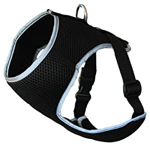 Dogs & Co The Ultimate Dog Harness Soft and Comfortable for Dogs, Extra Small, Reflective Grey