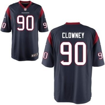 Jadeveon Clowney Elite Houston Texans Jersey Blue sz 44-Large by Player