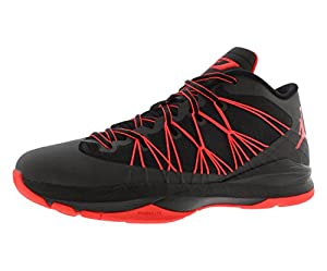 Nike Jordan Men's Jordan CP3.VII AE Black/Infrared 23/White Basketball Shoe 10 Men US
