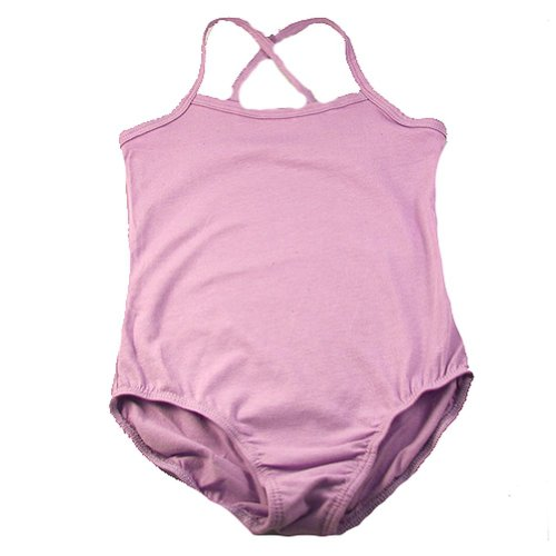 Little Girls Lilac Sleeveless Ballet Dance Gymnastics Leotard 2-6