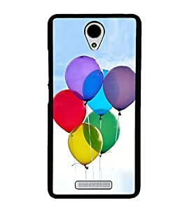 Colourful Balloons 2D Hard Polycarbonate Designer Back Case Cover for Xiaomi Redmi Note 2 :: Redmi Note 2 Prime