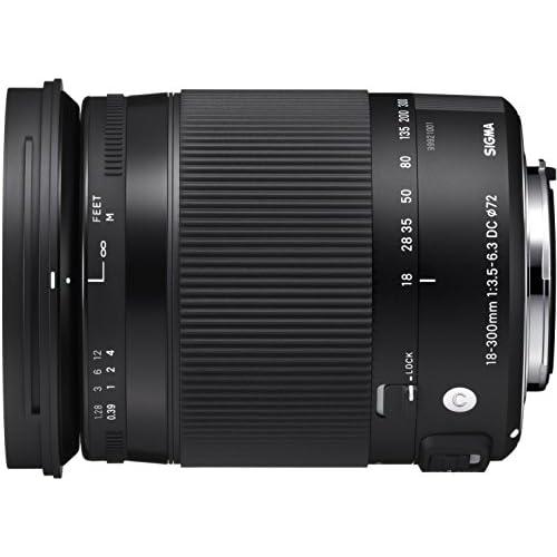 SIGMA 高倍率ズームレンズ Contemporary 18-300mm F3.5-6.3 DC MACRO OS HSM キヤノン用 APS-C専用 886547