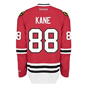 Patrick Kane Chicago Blackhawks Reebok Premier Replica Home NHL Hockey Jersey Size S