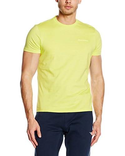 Diadora T-Shirt Manica Corta [Giallo]