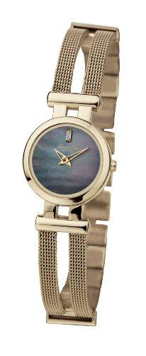 Kenneth Cole KC4630 - Orologio da polso da donna, cinturino in rivestito in acciaio inox colore oro