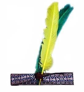 Indianer-Stirnband mit Federn
