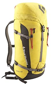 Black Diamond Speed 22 Backpack, Sulfur, Small/Medium