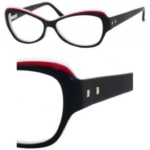 Yves Saint LaurentYves Saint Laurent 6369 Eyeglasses-0LR2 Black Red White-54mm