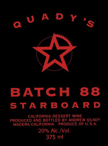 Nv Quady Batch 88 Starboard Blend - Red 375 Ml