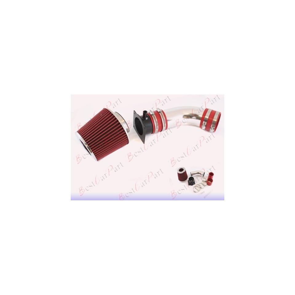 96 97 98 99 00 Audi A4/A6 2.8L V6 Short Ram Air Intake + Red Filter SRAD1R
