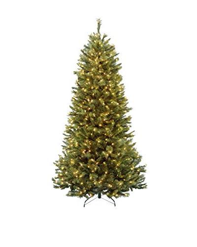 National Tree Company 7' Rocky Ridge Slim Pine Hinged Tree