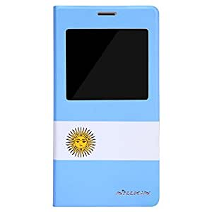 Nillkin Samsung Galaxy S5(G900) World Cup Honor Series Leath Case - Retail Packaging - Argentina