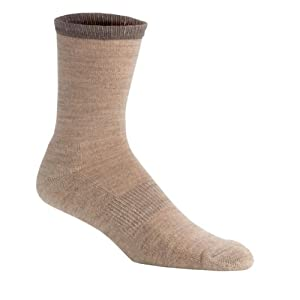 SmartWool Women's Casual Cushioned Crew Socks, Pair OATMEAL W10-12.5