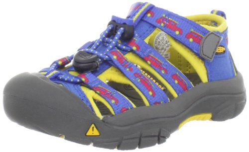 Keen Newport H2 Sandal (Toddler/Little Kid/Big Kid),Strong Blue/Cyber Yellow Wagon,8 M Us Toddler front-1052705