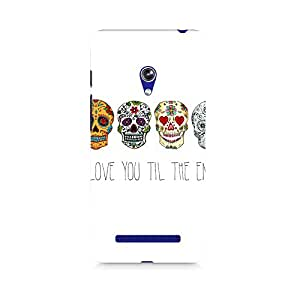 Ebby Love till the end Premium Printed Case For Asus Zenfone Go