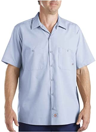 dickies men 39 s industrial short sleeve work. Black Bedroom Furniture Sets. Home Design Ideas