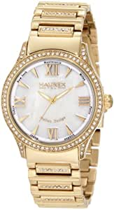 Haurex Italy Women's Preziosa Mother Of Pearl Ip Watch Mother-Of-Pearl XY336DWM
