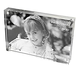 Magnetic Acrylic Photo Frame Picture Frame (3.5X5 inches)