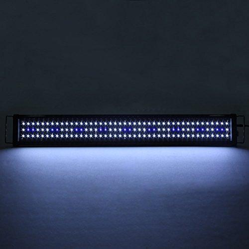 simbr simbr aquarium beleuchtung lampe led aufsetzleuchte schwarz 90 110cm. Black Bedroom Furniture Sets. Home Design Ideas