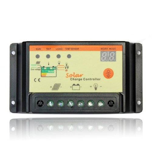 Tonsee(TM) 20A PWM Solar Charge Controller Regulator 12V Auto Switch Solar Panel
