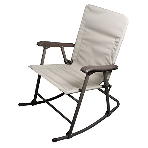 Folding Rocker Chair Rocking Seat Furniture Outdoor Relax Porch Home Lawn Patio