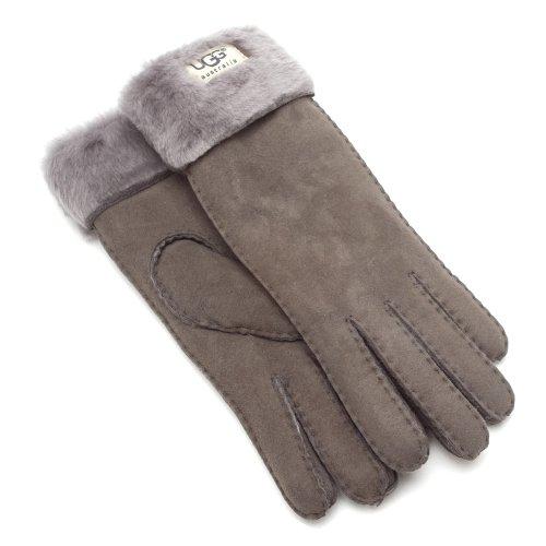 UGGUGG Australia Women's Turn Cuff Glove Grey S