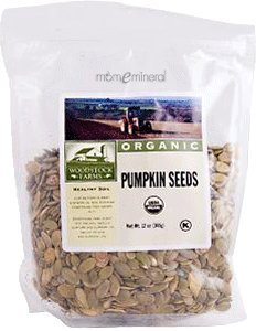 Organic Pumpkin Seeds, 12 oz (340 g) by Woodstock Farms