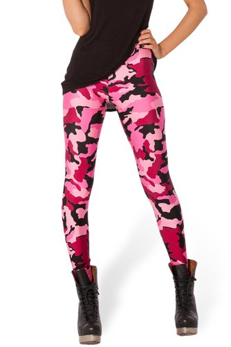 Redextend29 Women'S Fashion Street Beat Legs Tight Stretch Nightclubs Leggings
