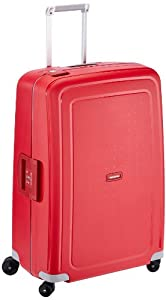 Samsonite Valise S'cure Spinner 75/28, 75 cm, 102 L, (Rouge)