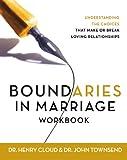 Boundaries in Marriage Workbook (0310228751) by Cloud, Henry