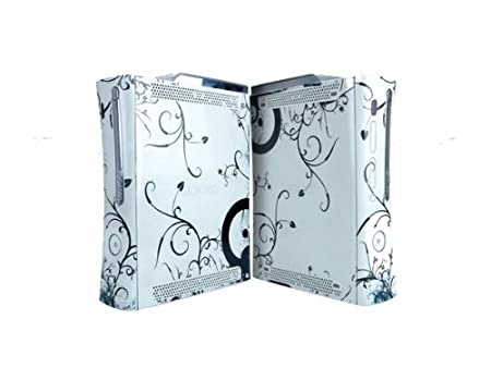 White Theme decal Sticker SKIN for Xbox360 Console X038